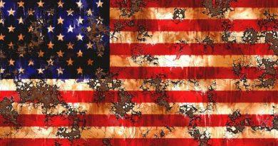 usa crise drapeau
