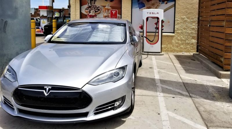 tesla vehicule electrique