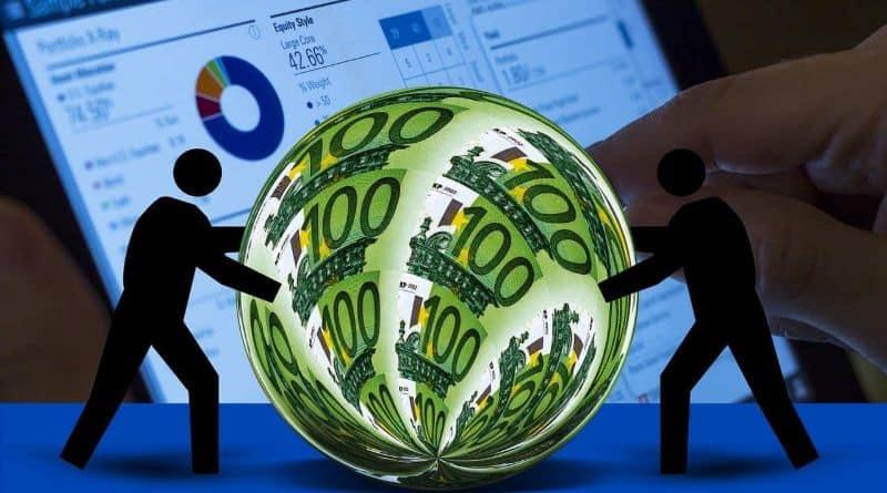bulle billet euro graphique