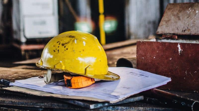 industrie casque chantier