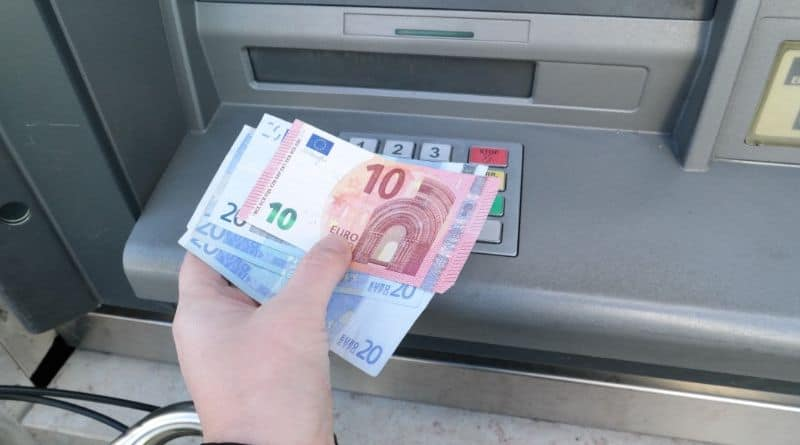 distributeur billet euro
