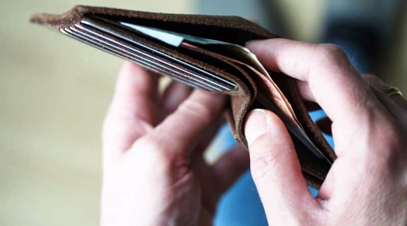 porte monnaie billet