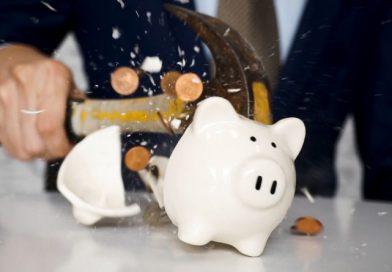 banque tirelire crise