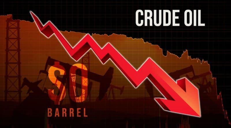 chute petrole