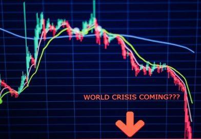 trading graphique crise