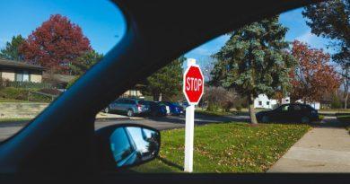 automobile stop