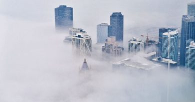 immeuble brouillard