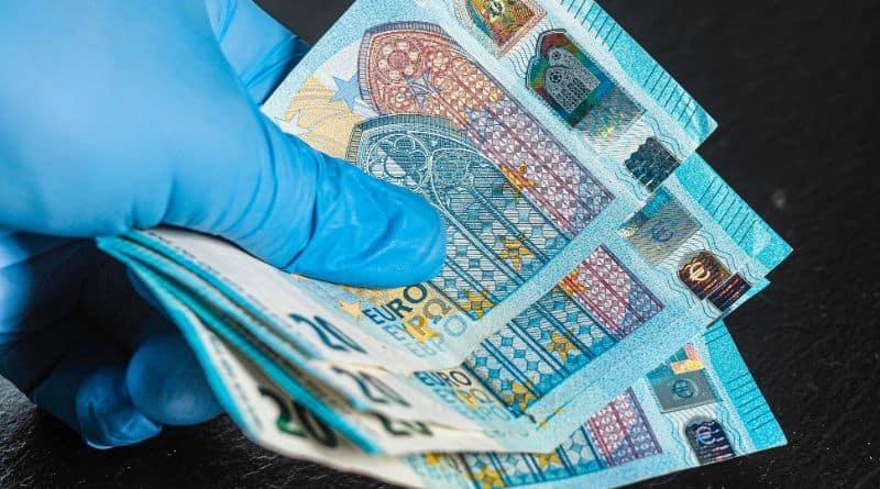 billet euro gant