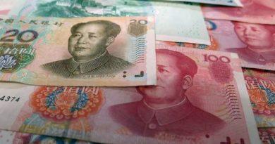 billet yuan chine