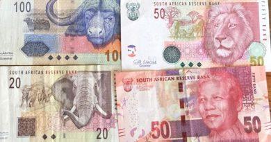 billet rand afrique du sud