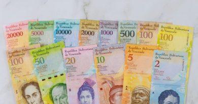 billet venezuela bolivar