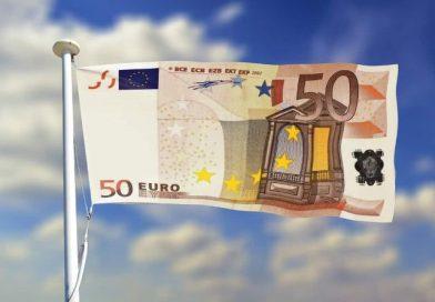 billet euro drapeau