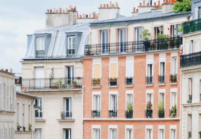paris france immeuble