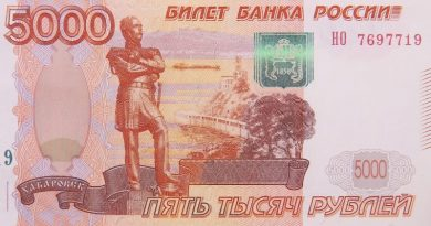 billet rouble russe