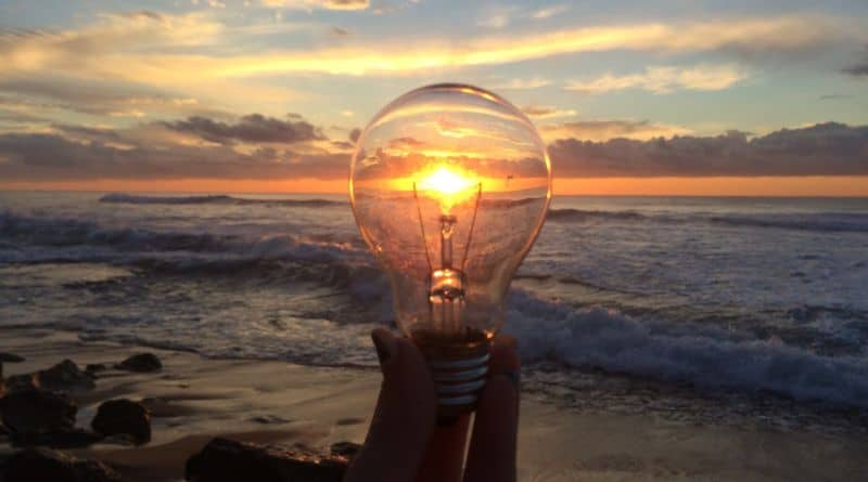 soleil or lampe
