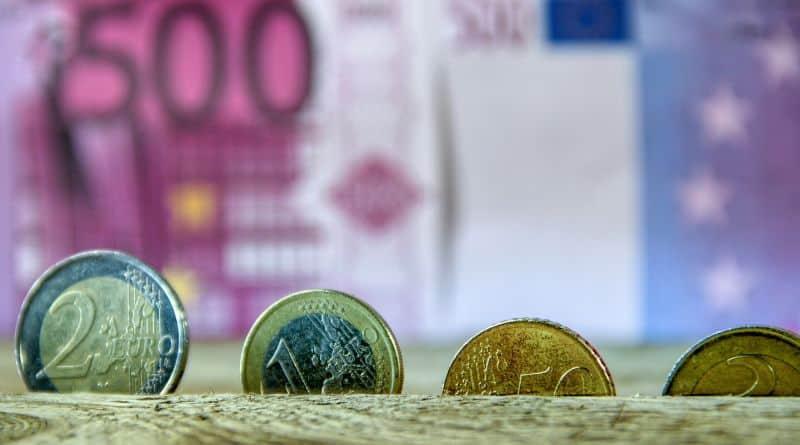 euro billet piece