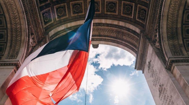 paris france drapeau