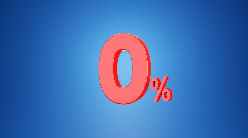 taux zero
