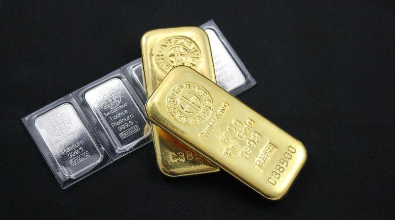 lingot or argent