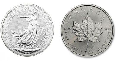Les deux pièces d'argent métal les plus sécurisées au monde